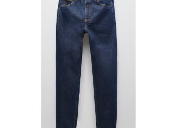 Denim Blue Straight Fit Jeans