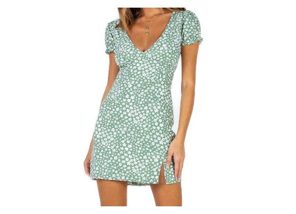 Split Hem Dress