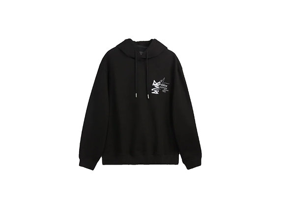 Graffiti Graphic Pullover