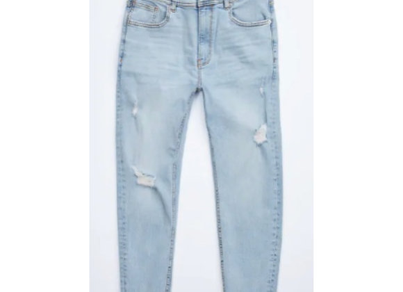 Pale Distressed Jeans