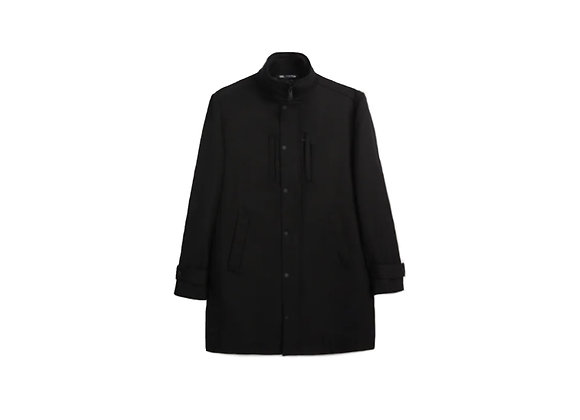 Buttoned Overcoat
