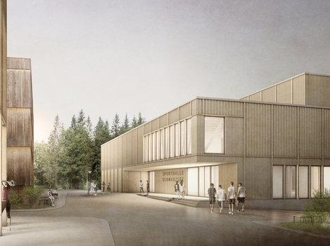 Erarbeitung und Durchführung des Wettbewerbverfahren für den Campus Schwarzsee / Lac Noir, FR
