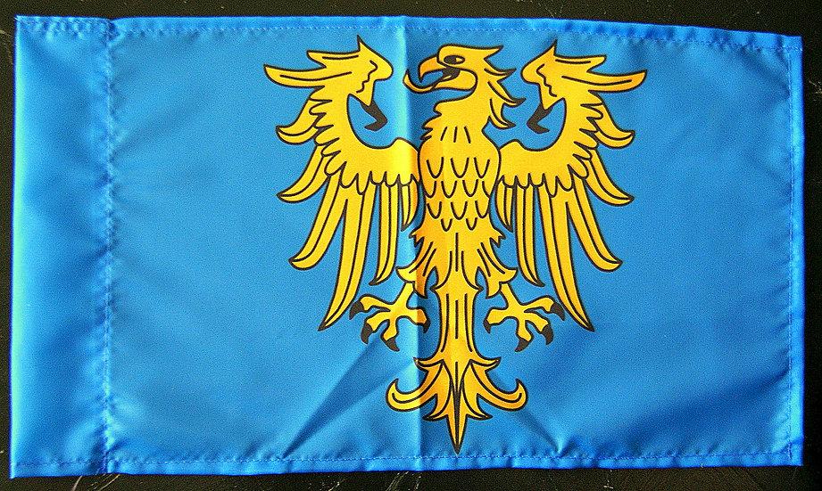 Flaga GŚl. heraldyczna mała