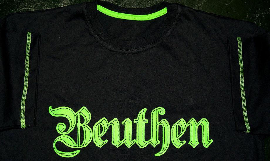 Beuthen - zielone obszycie