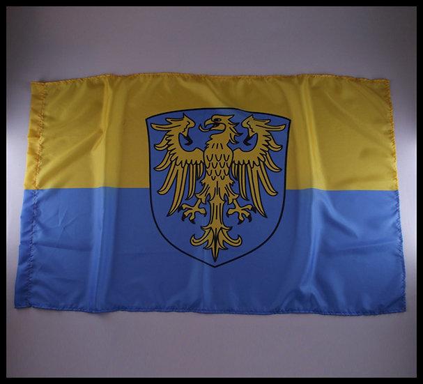 Flaga Górny Śląsk mini