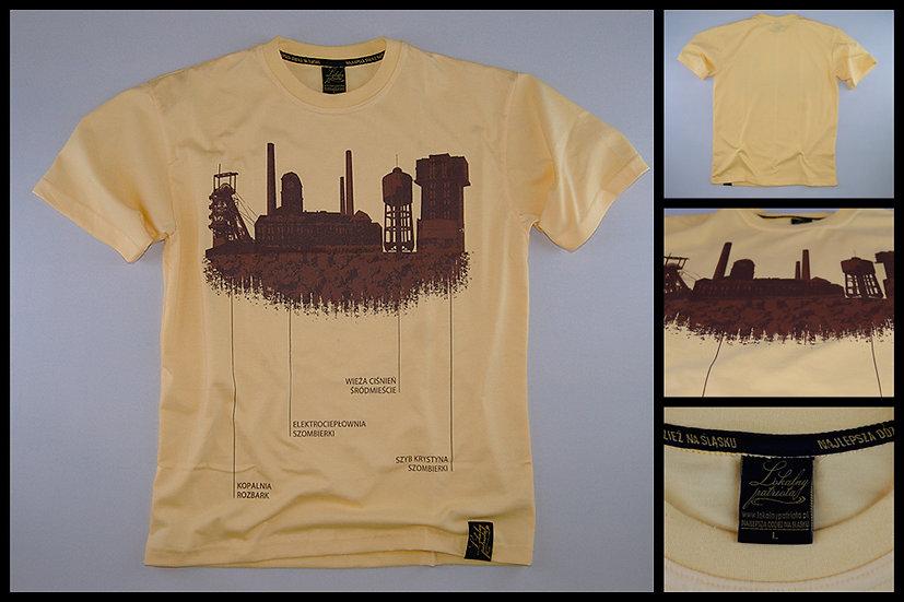 T-shirt Bytom panorama przemysłowa
