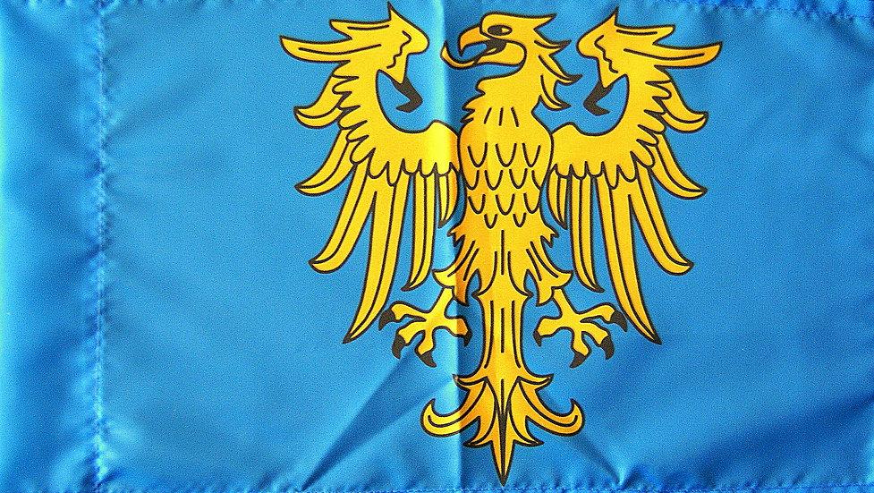 Flaga GŚl. heraldyczna duża