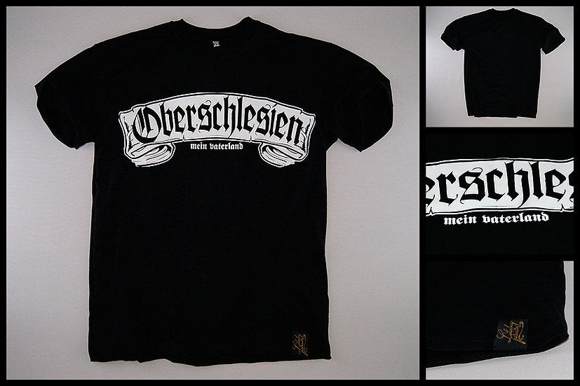 T-shirt Oberschlesien czarny