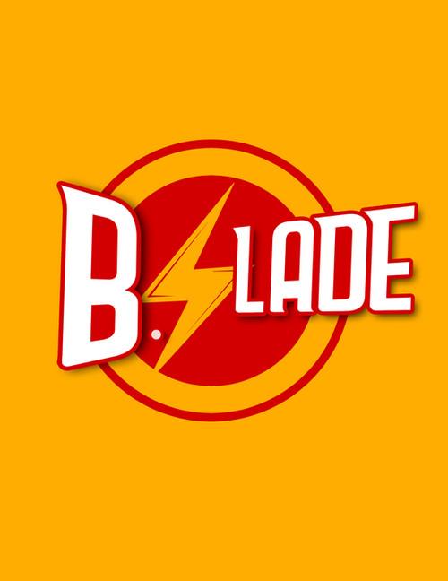 B Slade Logo Design