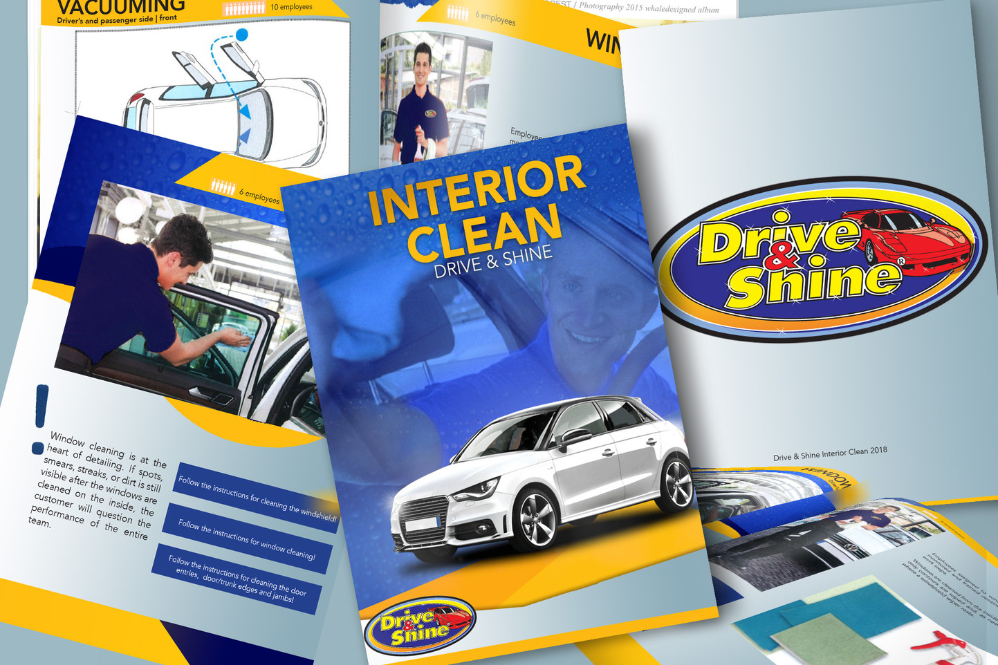 Drive and Shine Graphic Booklet