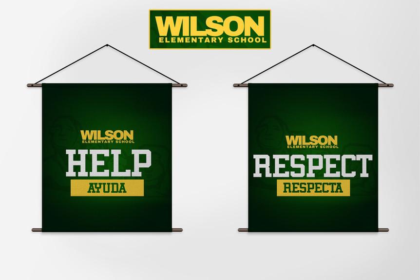 Wilson School Banners
