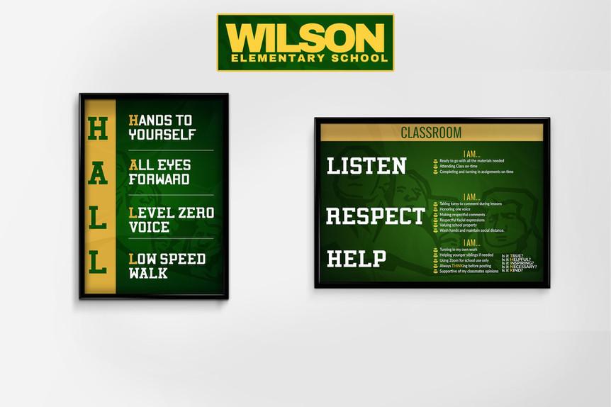 Wilson School Posters