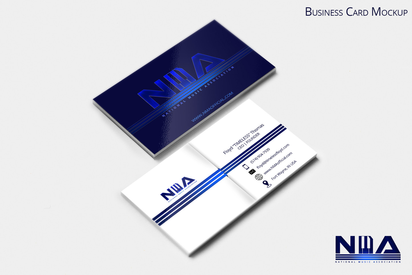 NMA Business card