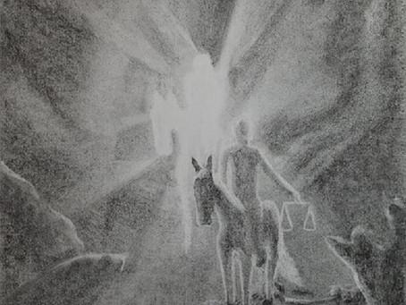 Olaf Osteson - Ein Kohlenbild von Christopher Baumann