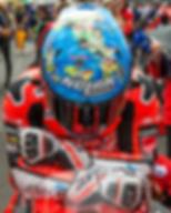 Marco Melandri getting his head settled ahead of WSBK Race 1, Phillip Island 2018