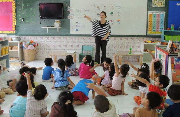 Teaching English, Bangkok, Thailand