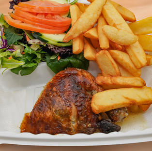 Combination Plate with French Fries - Do