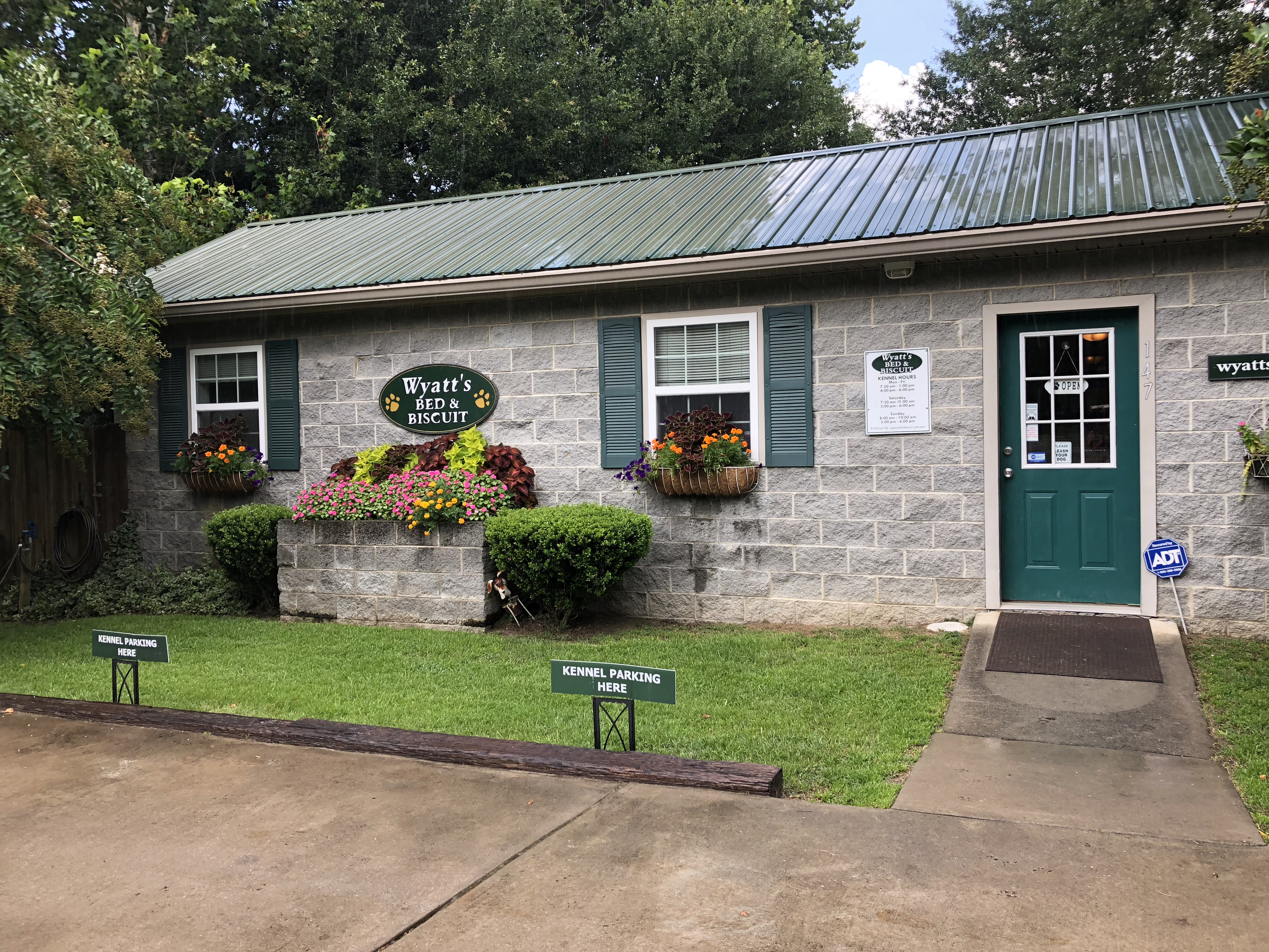 Kennel building, summer 2018