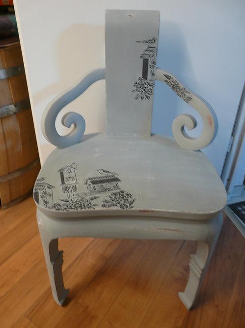 Speziell alter Stuhl