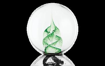 green-paperweight
