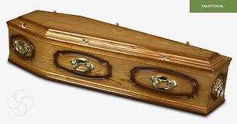 WINDSOR Traditional Coffin Medium Dark O
