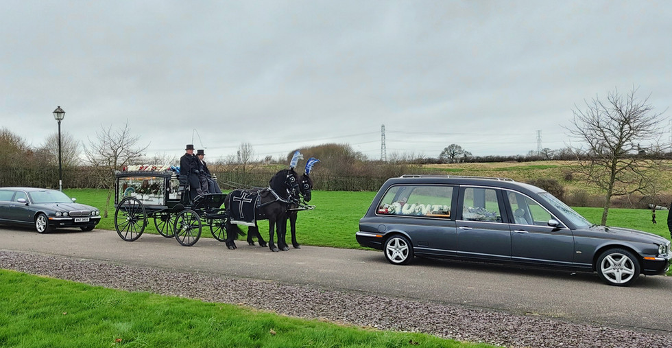 Funeral of the late Maureen Price