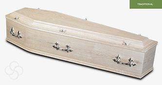 WINDERMERE Traditional Coffin Limed Oak.