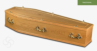 SOUTHWELL Traditional Coffin Light Oak.j