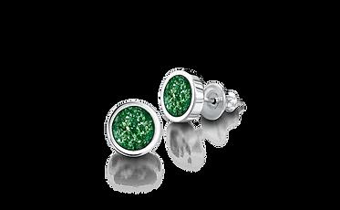 earrings-silver-green