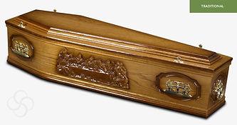 WESTMINSTER Traditional Coffin Medium Da