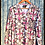 Thumbnail: LS Ladies Pink Cross Country Camo V-neck Tshirt