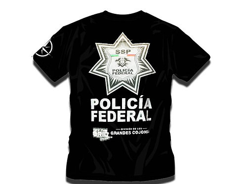 Policia T-Shirt Off The Grid Expeditions