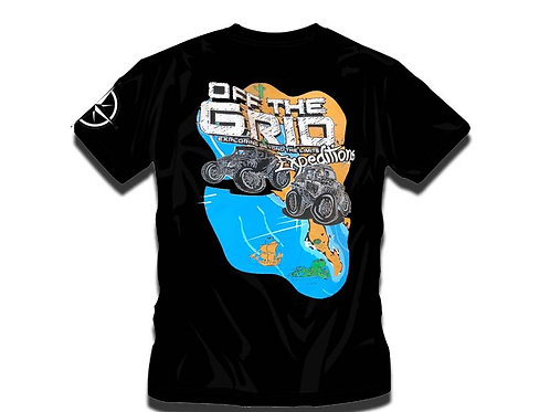 Map T-Shirt Off The Grid Expeditions