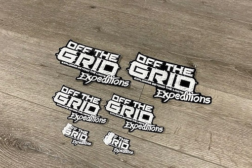 Off the GRID Expeditions Sticker Pack