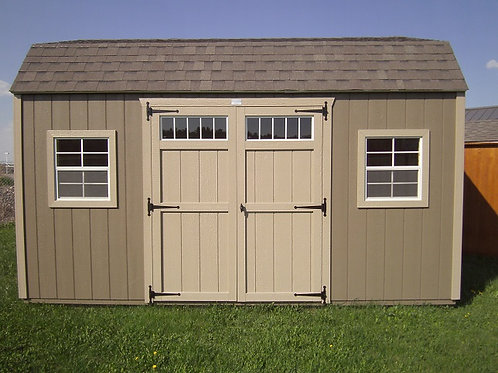 New 12' x 16' Dutch Barn With Windows