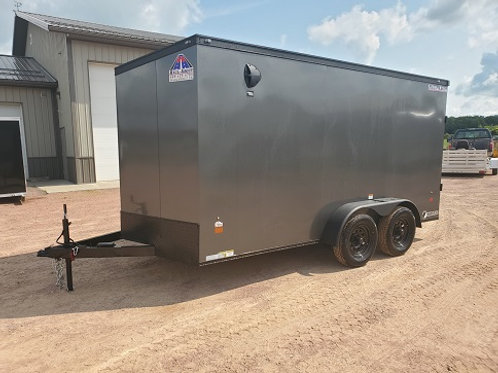 """New 2021 Haul-About """"Cougar"""" 7' x 14' Enclosed Trailer"""