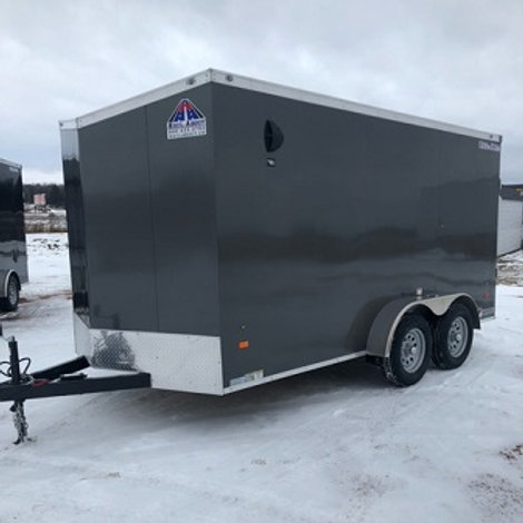 """New 2021 Haul-About 7' x 14' """"Cougar"""" Enclosed Trailer"""