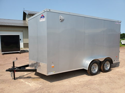 """Used 2021 Haul-About 7' x 14' """"Cougar"""" Enclosed Trailer"""