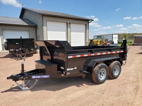 New 2021 Sure-Trac 6' x 10' Dump Trailer