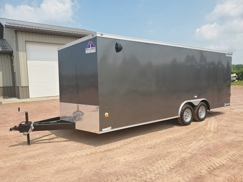 """New 2021 Haul-About """"Cougar"""" 8.5' x 20' Enclosed Trailer"""
