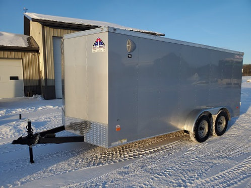 """New 2021 Haul-About """"Bobcat"""" 7' x 16' Enclosed Trailer"""