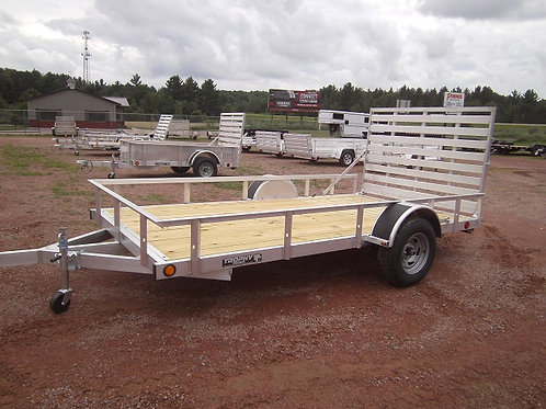 New 2020 Trophy 6.5' x 12' Utility Trailer