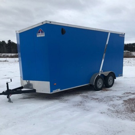 """New 2021 Haul-About """"Cougar"""" 7' x 16' Enclosed Trailer"""