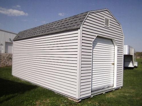 New 10' x 20' Lofted Barn With Roll-Up Door