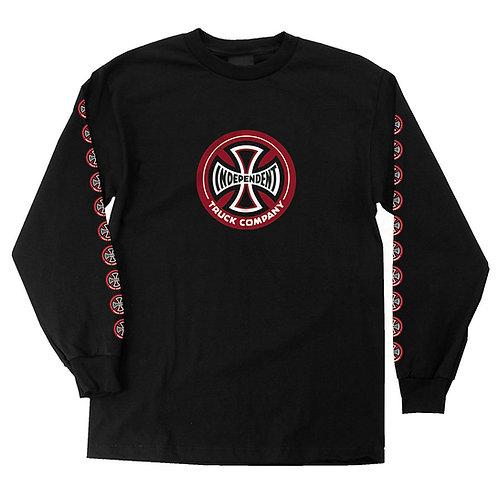 INDY Hollow Cross Regular L/S T-Shirt