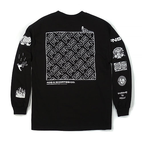 40s & Shorties CHAOS L/S TEE