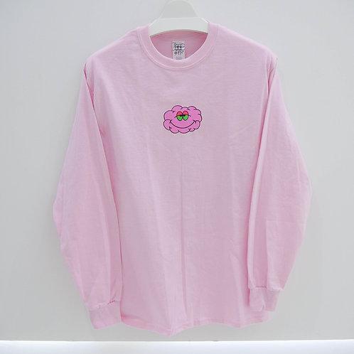 POKO ふぁっL/S TEE CLOUD PINK