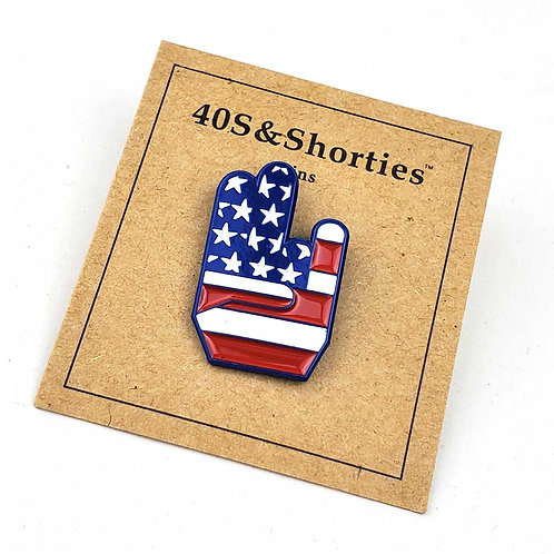 40s & Shorties Patriot Shocker PIN