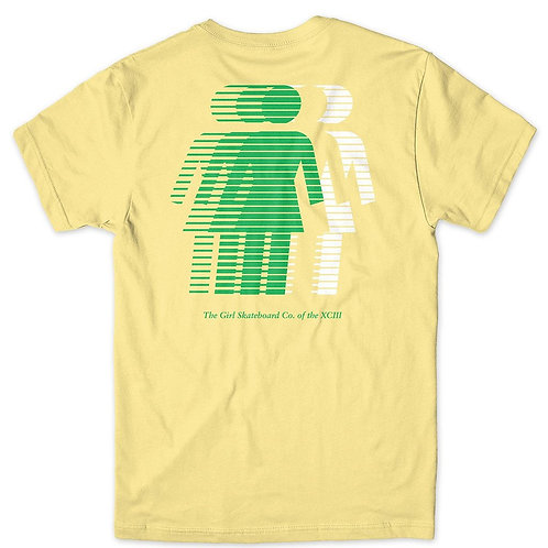 GIRL NATIONAL HERO TEE BANANA