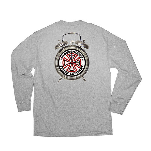 Thrasher x Independent L/S T-Shirt GREY